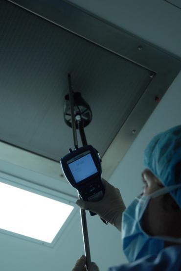 Air velocity cleanroom HEPAs 2